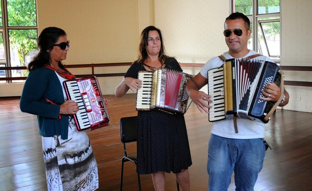 Secretaria de Cultura de Teresópolis lança curso de acordeon