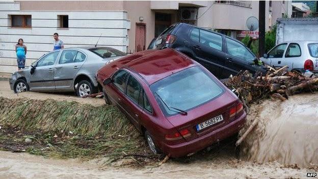последствия наводнение в Варне