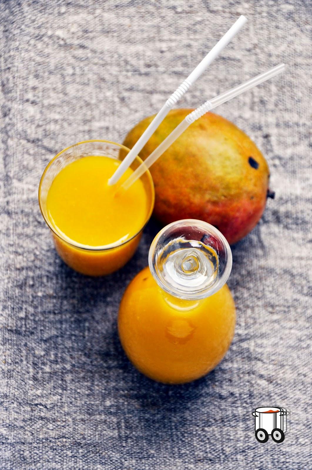 Szybko Tanio Smacznie - Smoothie melon miodowy - mango