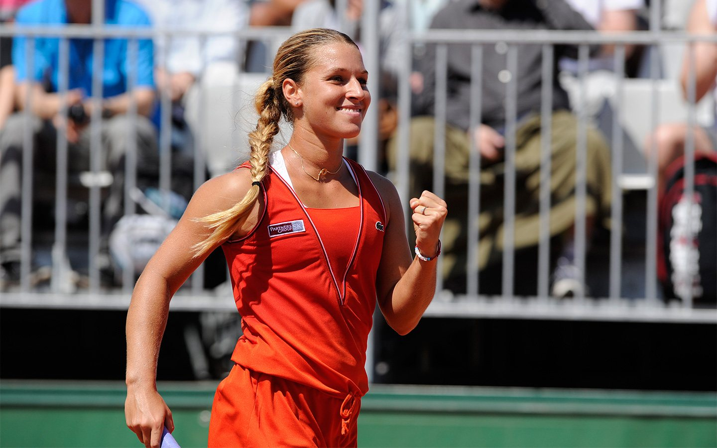 Dominika Cibulkova Smiling 2013 Cute Slovak Tennis Player Hd Desktop