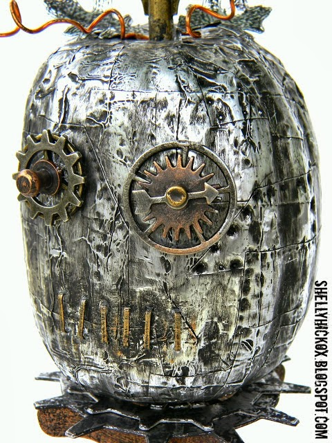 "Steam Punk Pumpkin Art ""Steampunkin"" by Shelly Hickox"