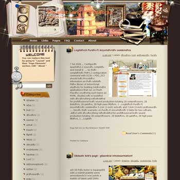 Peculiar Land of Honduras Blogger Template. beautiful background template blogger