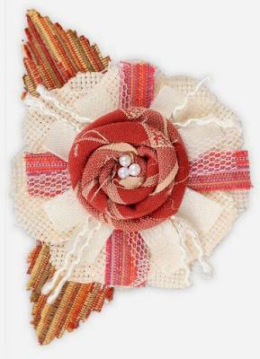 коллекция RTO Винтаж, Брошь в форме розы
