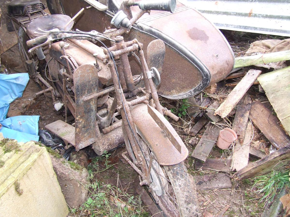 Barn Find Bikes Discovered By Charterhouse