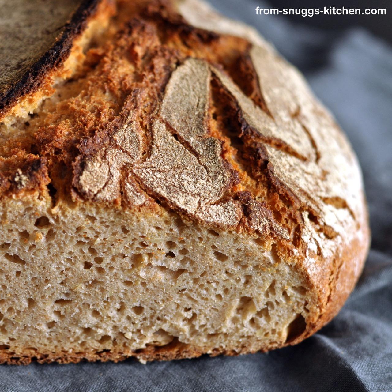 5-Korn-Brot mit Flocken