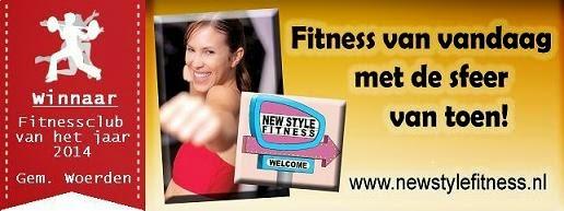 Fitness v.a. 19,95 p/mnd. Welkom bij  New Style Harmelen. Winnaar fitnessclub van het jaar 2014!