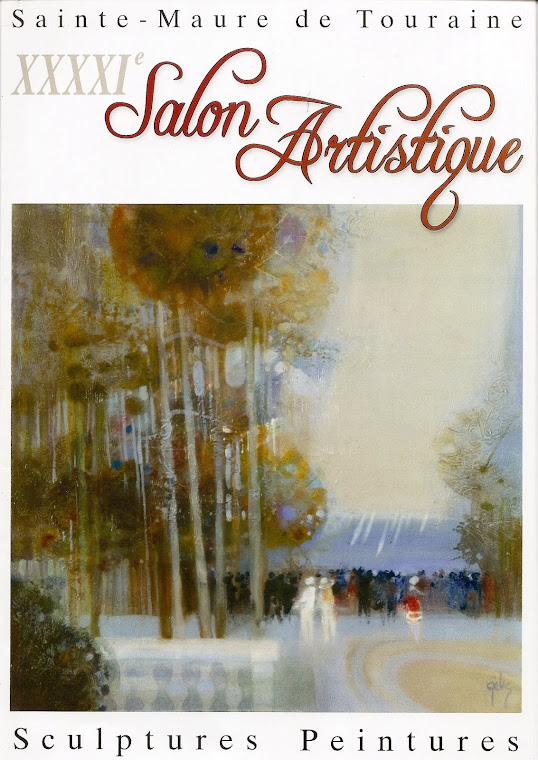 """PORTADA SALON DE ART-Sainte de Touraine"""