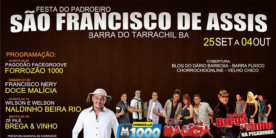 FESTA DANÇANTE DE SAO FRANCISCO DE ASSIS EM BARRA DO TARRACHIL
