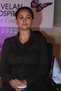 Simran Pictures in Black Shirt At Isari Velan Mission Hospital Launch