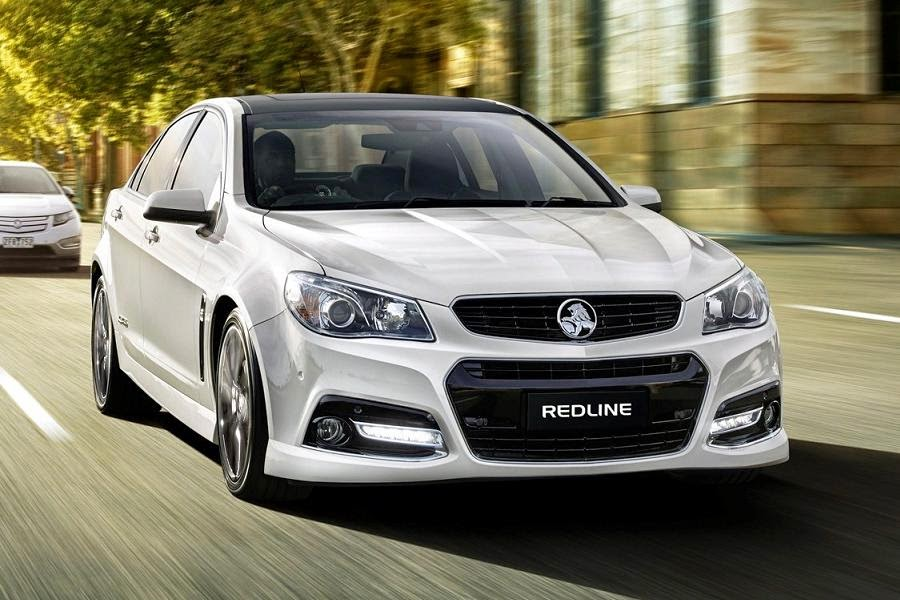 Holden VF Commodore SS V Redline (2015) Front Side