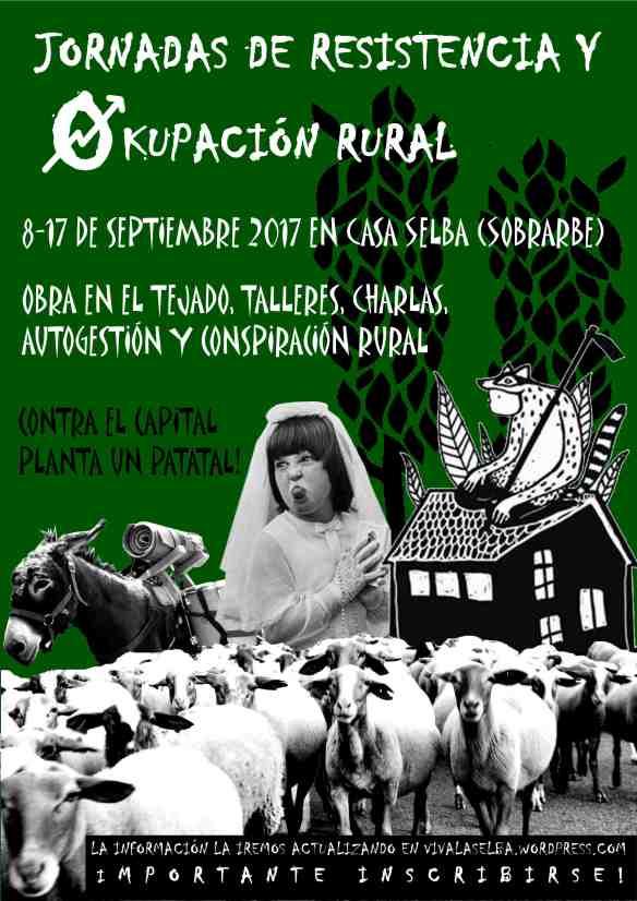 Jornades d'okupació i resistència rural a Casa Selba (Sobrarb, Osca)