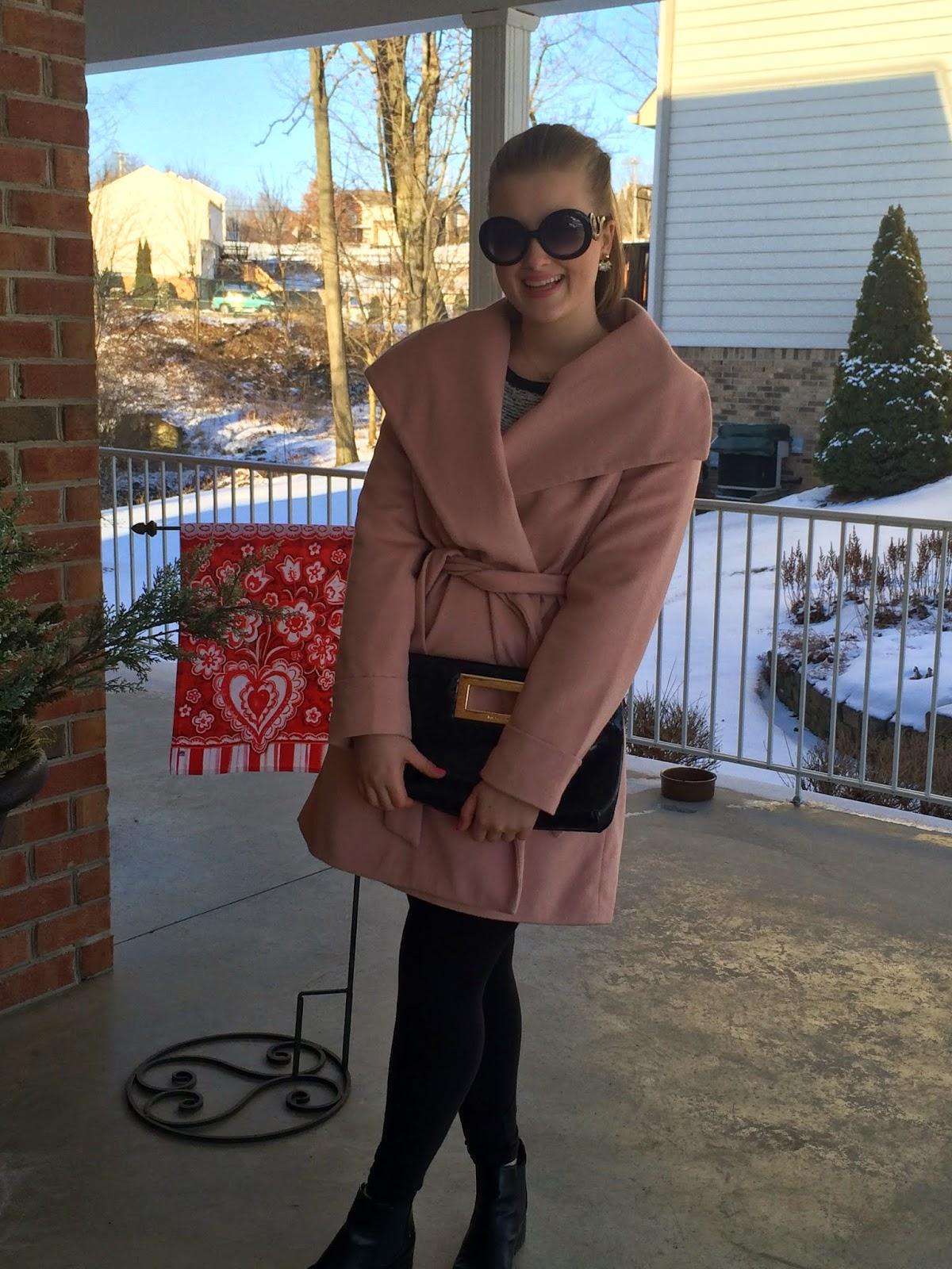 Powder Pink Scandal Coat