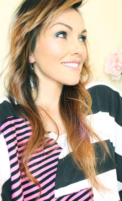 Ombre Hair Color with Highlights