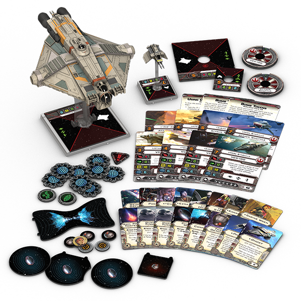 X-Wing Wave 8 VCX-100 Ghost