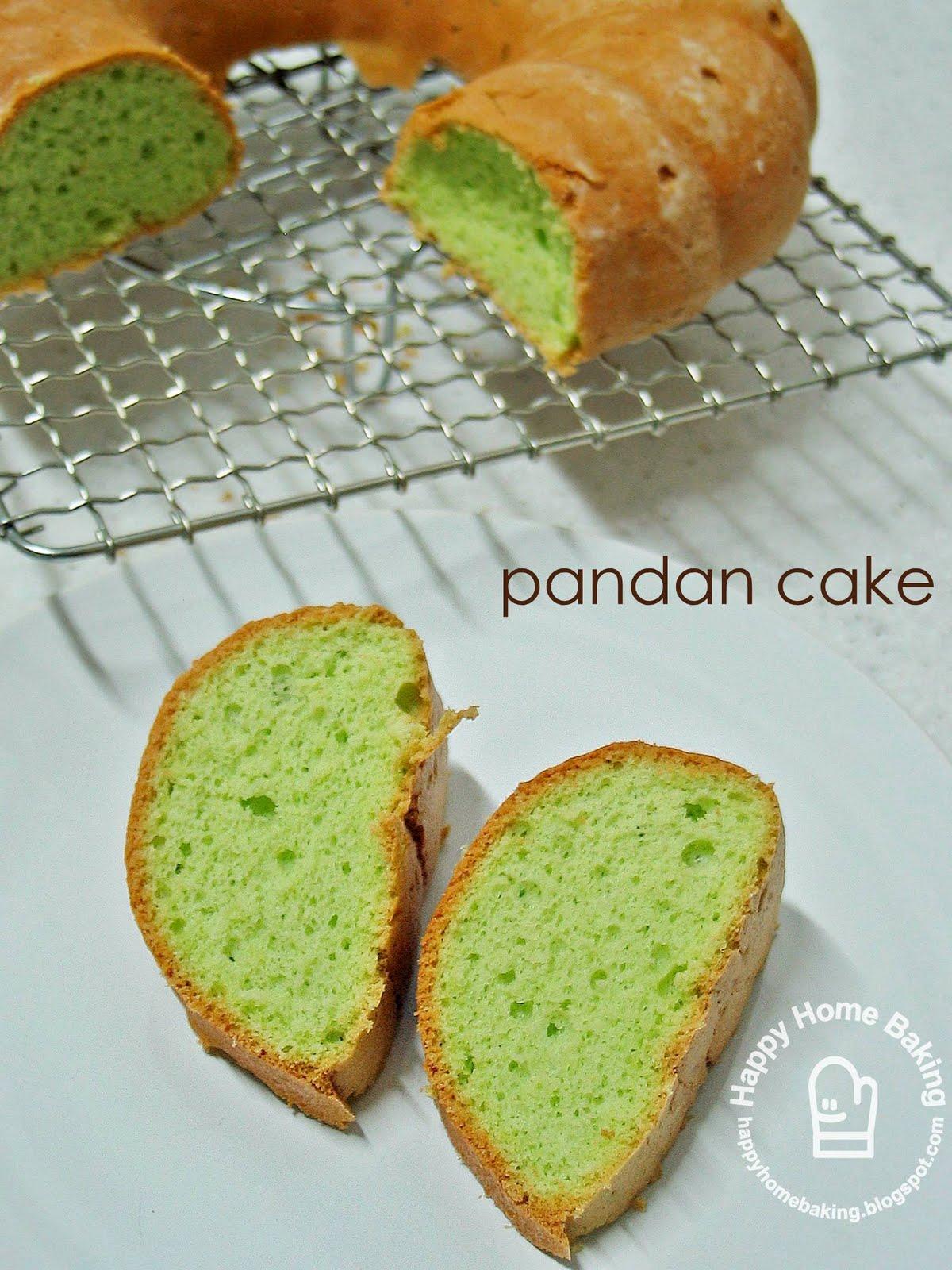 Ingredient Sponge Cake