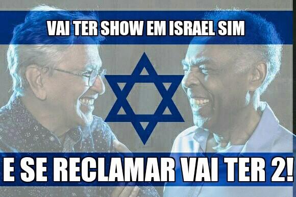 Gil e Caeetano show em Israel