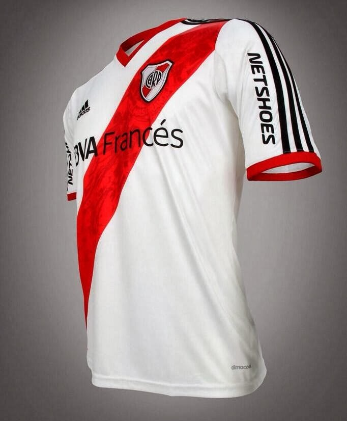 Camiseta nueva, River Plate, River, NetShoes, Net Shoes, 2014, Sponsor, Nuevo Sponsor, BBVA Frances, Frances, Francés,
