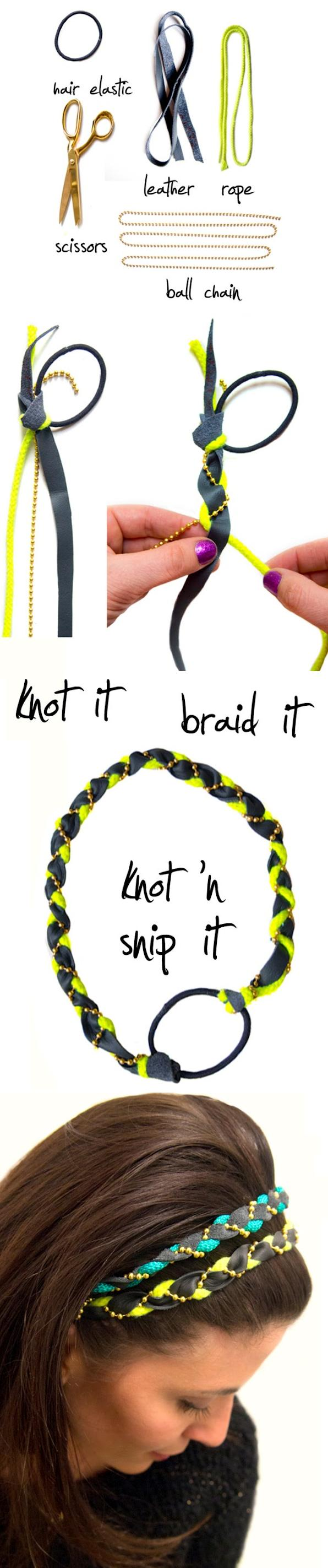 DIY: Quick & Easy Braided Headband