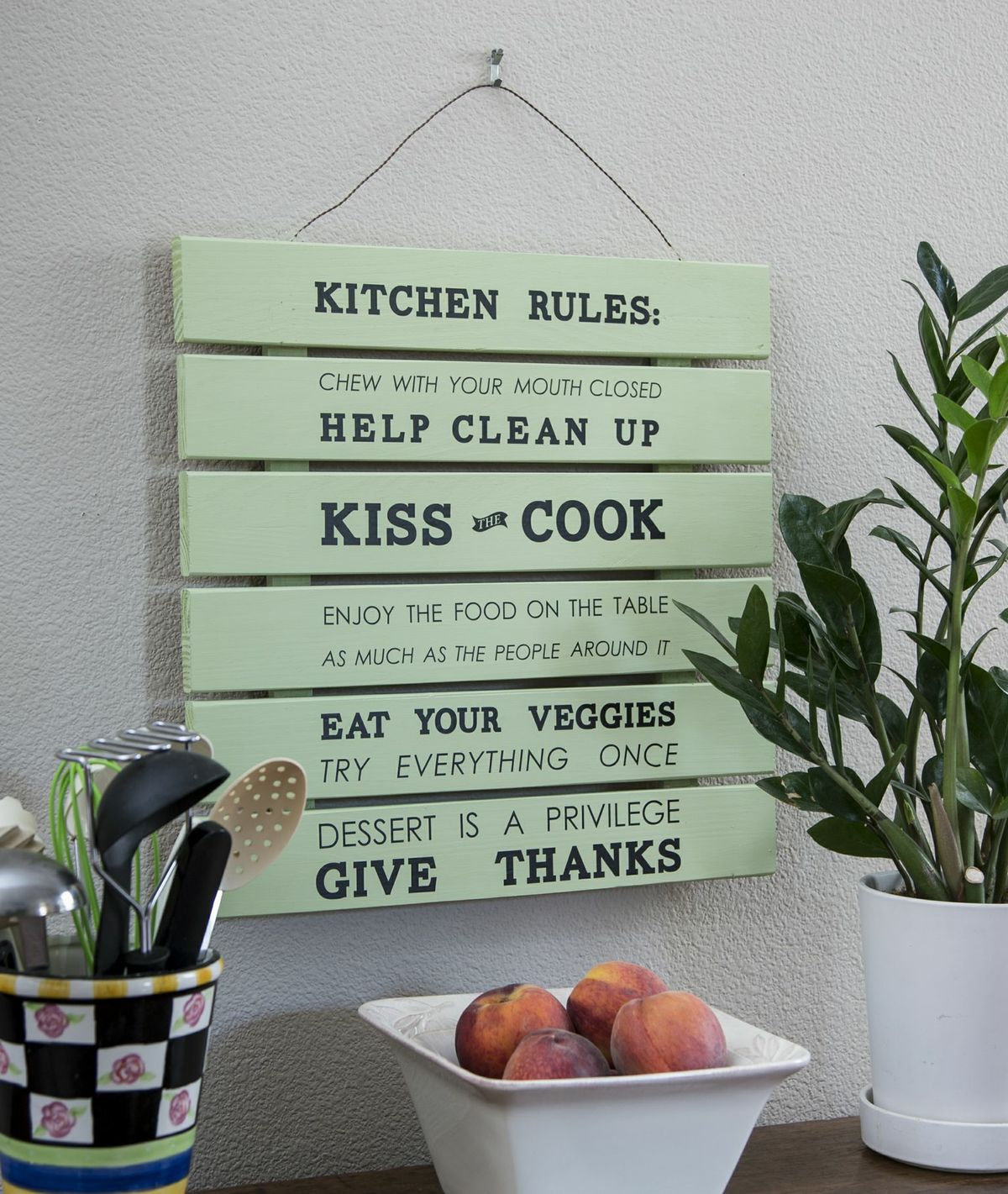 House Rules Yellow Kitchen: Craft Warehouse Blog