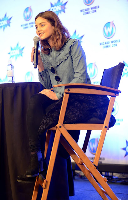 Actress, @ Jenna Coleman - Wizard World Comic Con in New Orleans
