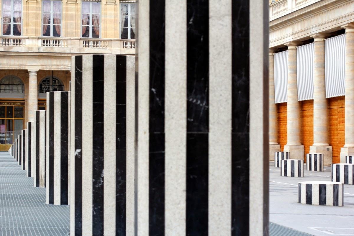 Jardins du Palais Royal - Colonnes de Buren