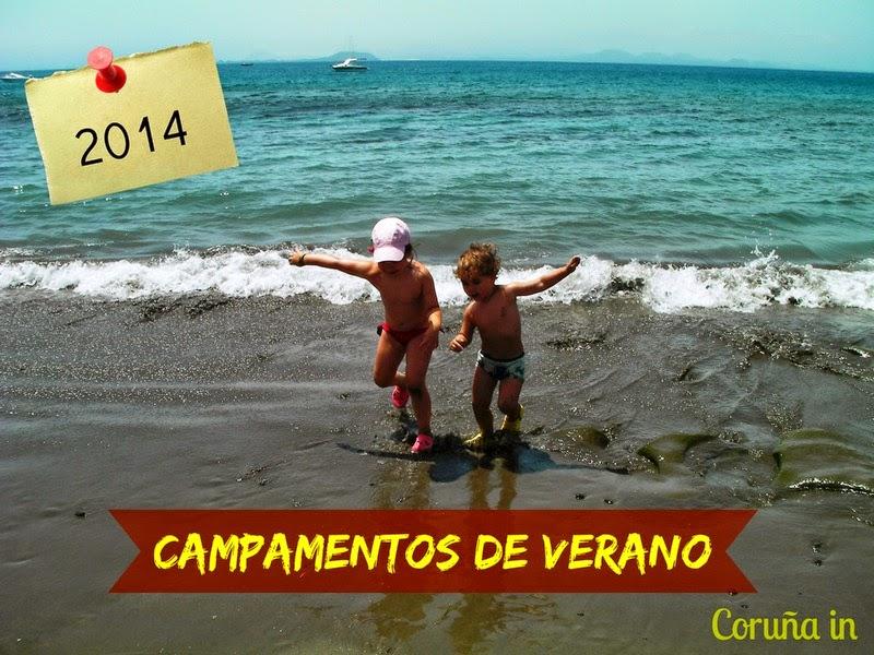 Campamentos verano Coruña