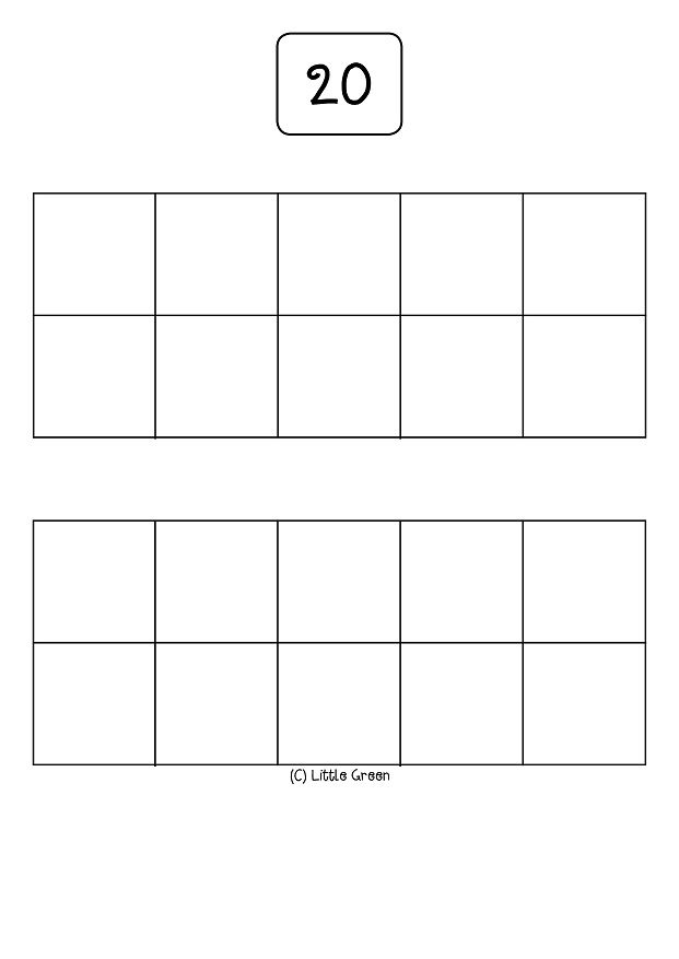 Printable Ten Frames