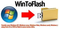 برنامج WinToFlash لتشغيل الويندوز من الفلاش USB
