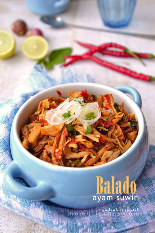 Balado Ayam Suwir