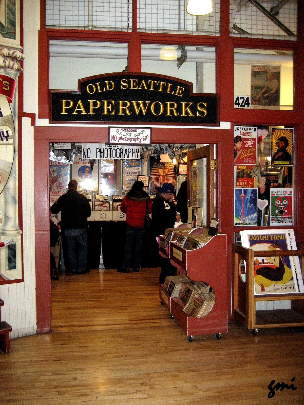9 Old Seattle Paperworks Downstairs and across
