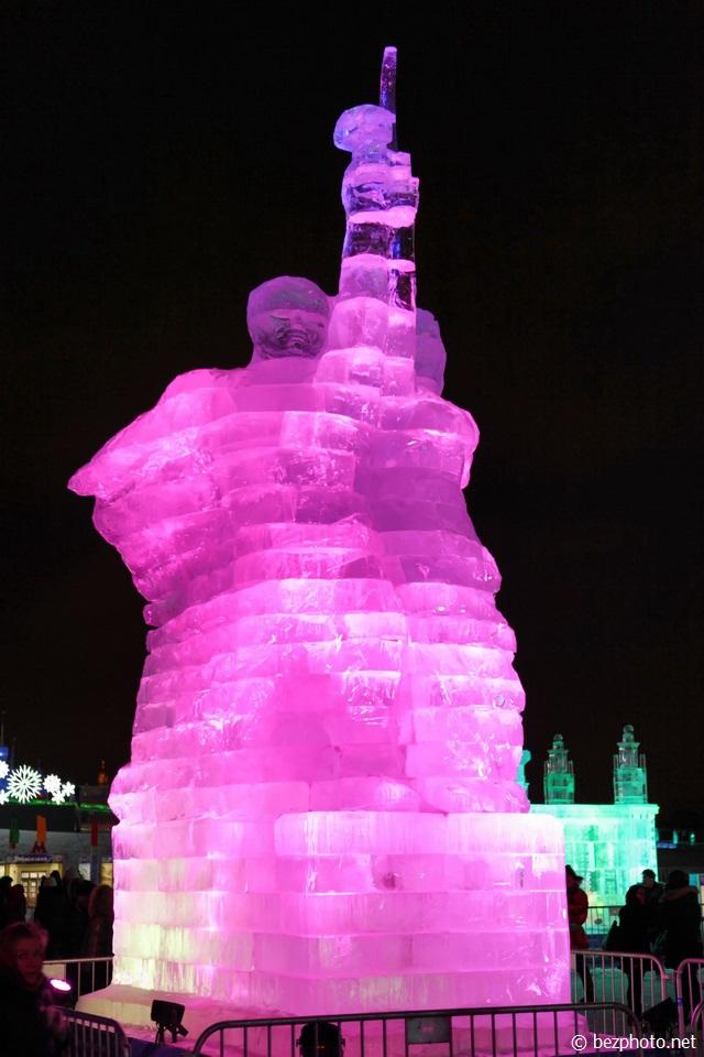 выставка ледяных фигур в москве