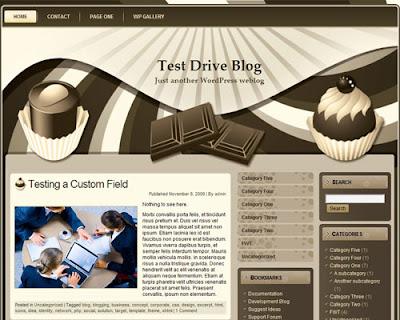 Chocolate Theme WordPress Theme