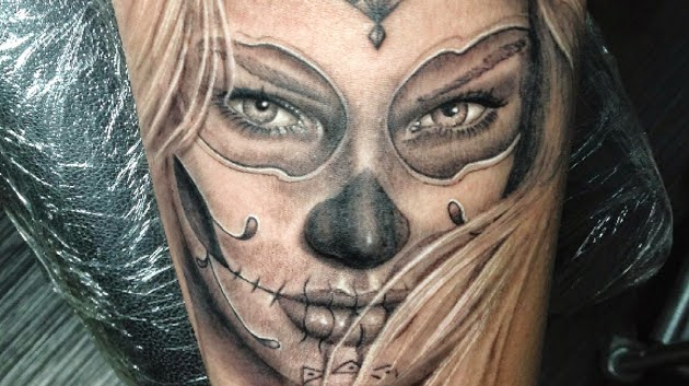 Wonderful Catrina Tattoos Design