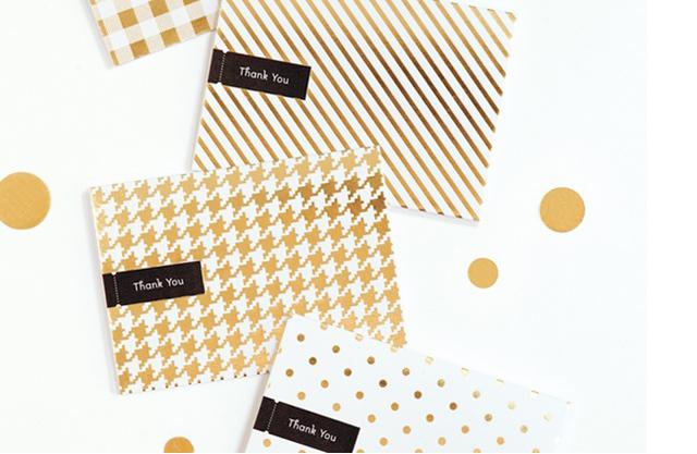 convites dourados