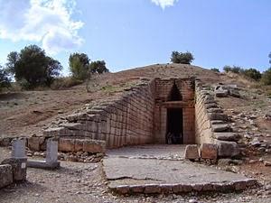 Treasury of Atreus, Greece