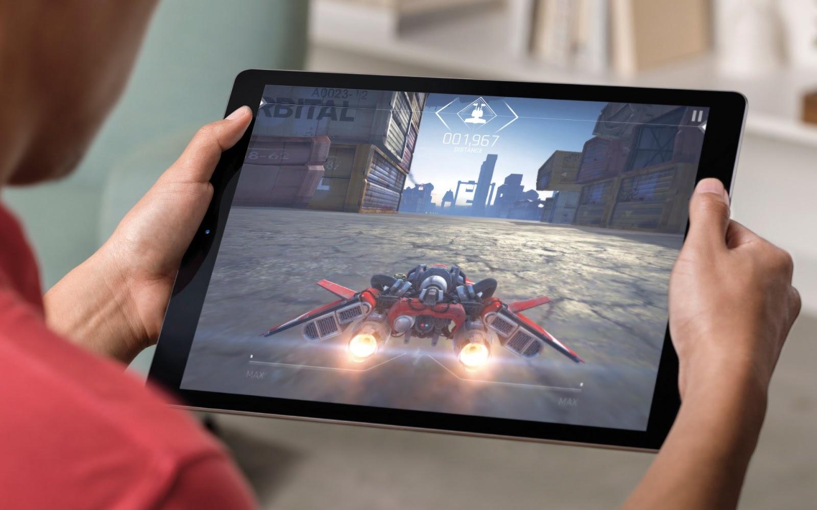 Jogos no iPad Pro