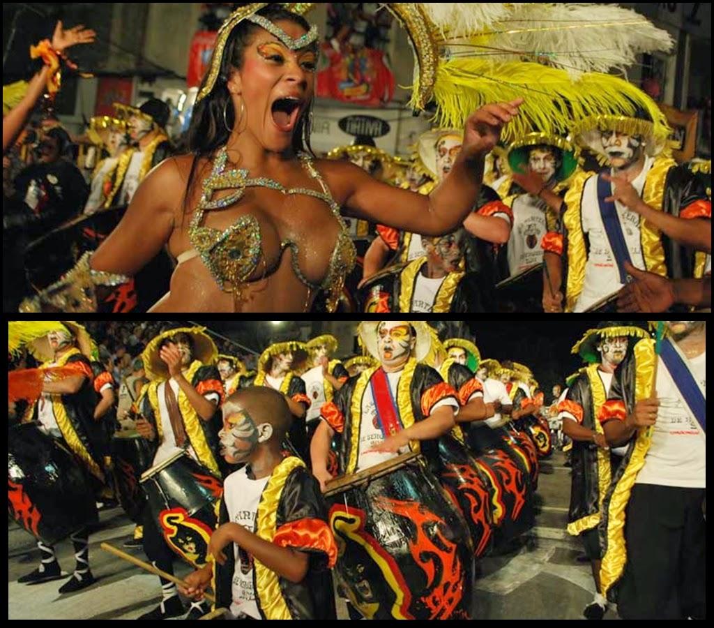 Desfile de Llamadas.Las Panteras de Benguela.. Montevideo. 2011.
