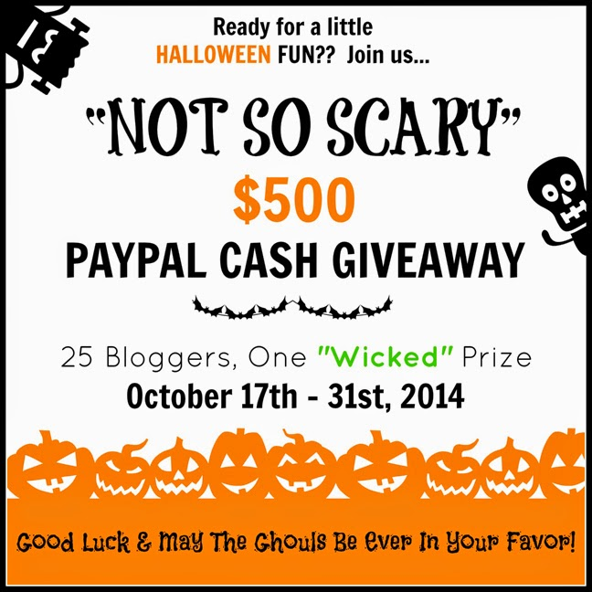 Free Printable Fall Mini Banner | And $500 Cash Giveaway