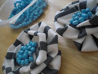 DIY Fabric Flower Headband for Party