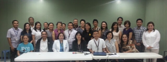 Faculty Meeting with Chancellor Carmencita Padilla