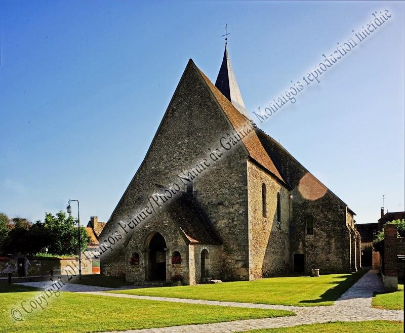 Eglise de Bransles