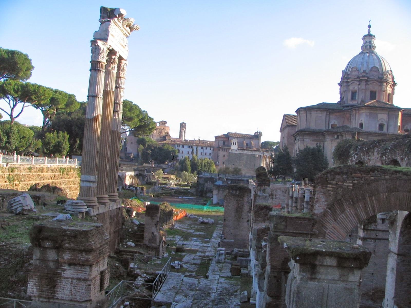Italia - Roma - Foro de Cesar