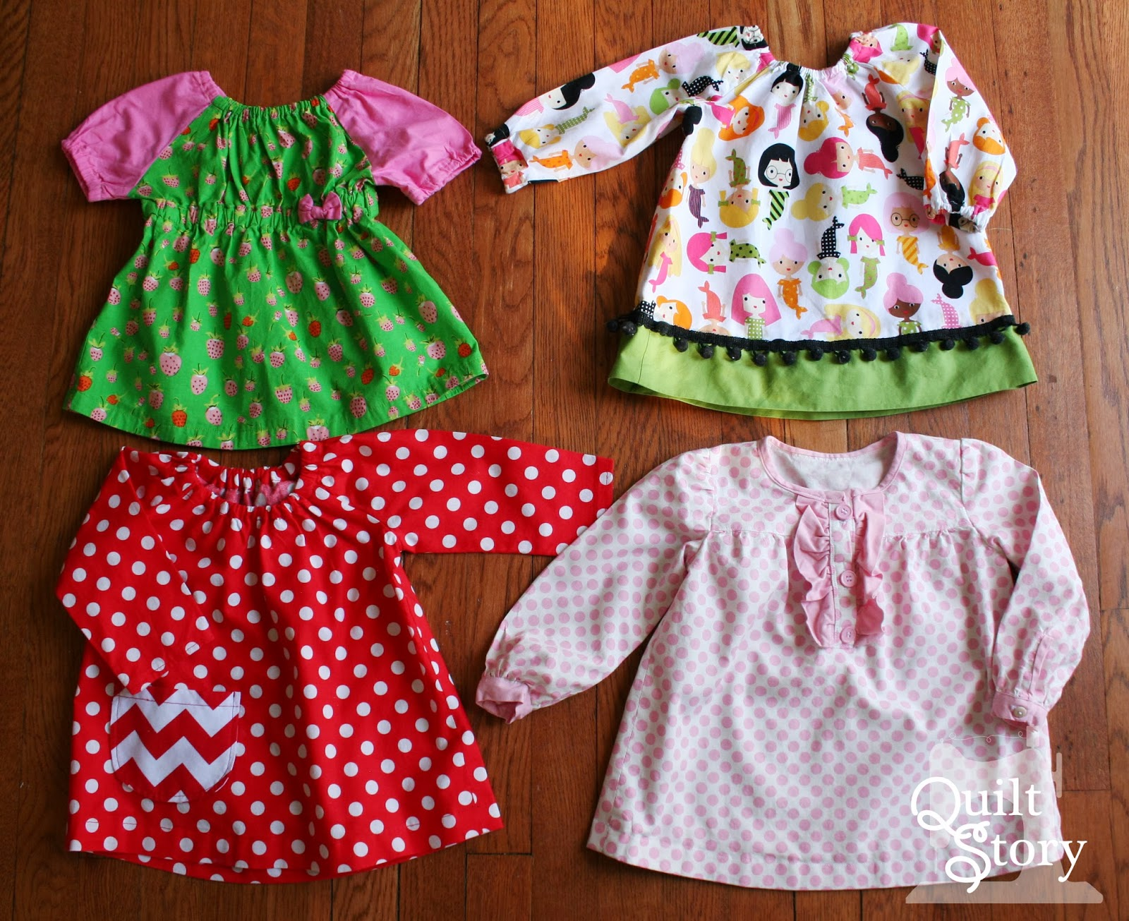 Quilt Story Darling Clothes for Lucy Lulu