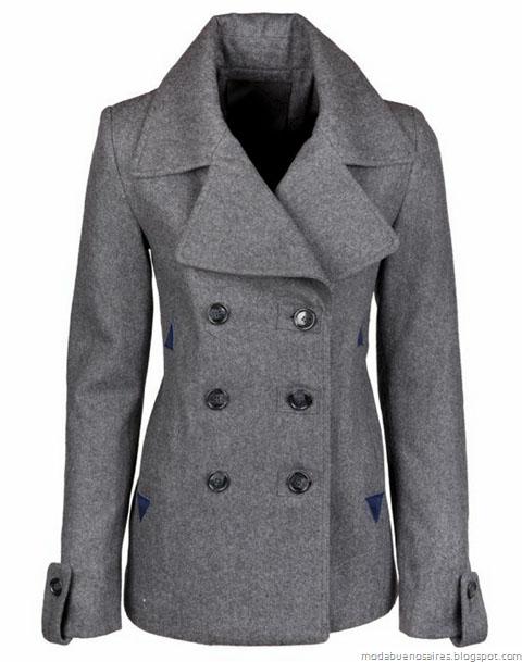 Abrigos invierno 2012. Camperas, tapados, sacos. Indumentaria femenina, compra de ropa online.