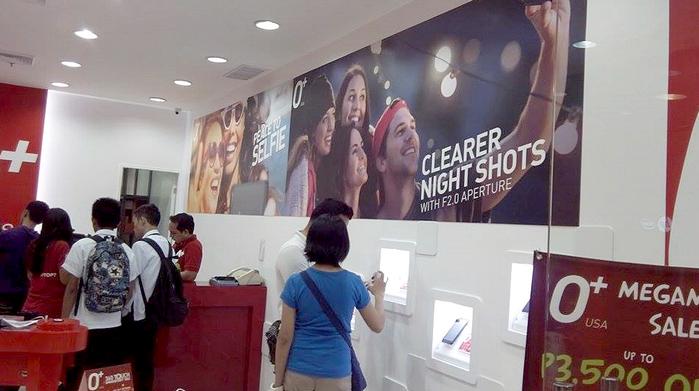 O+ USA SM MegaMall Store