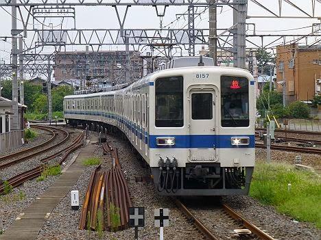 東武野田線 柏行き 8000系