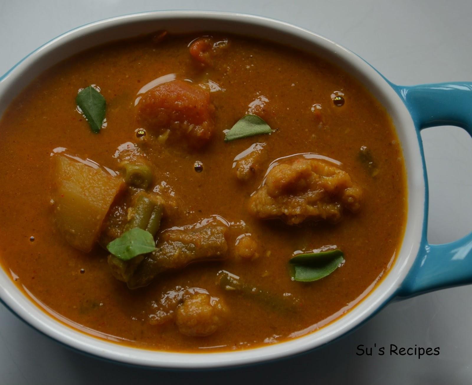 vegetable kurma, vegetable korma, veg curry, mixed vegetable curry, vegetable gravy, spicy curry, thai curry, veg coconut curry, madras curry, andhra curry, karnataka curry