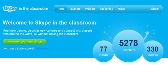 Skype lanza una red social para profesores