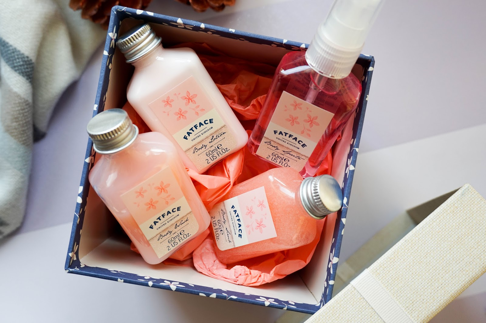 Fat Face Smelling Sweet Stocking Fillers Giveaway