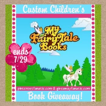 Fairy Tale, Custom Kids Gift, Childrens Personalized Book
